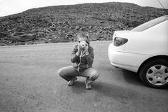 (patrickjoust) Tags: konica hexar rf voigtlander colorskopar 21mm f4 kentmere 400 developed xtol 12 35mm rangefinder black white bw home develop rebranded rebadged ilford film cv21 cosina wide angle leica m mount blancetnoir blancoynegro schwarzundweiss manual focus analog mechanical patrick joust patrickjoust usa us united states north america estados unidos amy photographer meta instax camera mt washington new hampshire nh england car rocks mountains