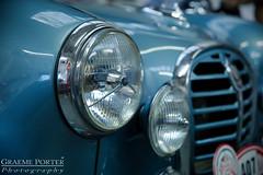 Austin A35 - IMG_6353 - Edited (406highlander) Tags: canoneos6d tamronsp2470mmf28divcusd dundeemuseumoftransport dundee scotland museum exhibit vehicle automobile classic vintage transport austina35 austin a35 xas437 car rally motorsport fullframe canon headlight spotlamp spotlight