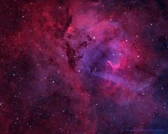 Sharpless 132 (orions_belt58 (www.meadowlarkridgeobservatory.com)) Tags: sh2132 sharpless132 sharpless nebulosity nebula narrowband