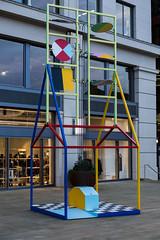 Semaphors (tommyajohansson) Tags: london kingscross granarysquare regentscanal november winter tommyajohansson geotagged