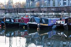 King's Cross basin (tommyajohansson) Tags: london kingscross granarysquare regentscanal november winter tommyajohansson geotagged