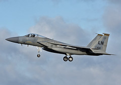 USAFE F-15C (np1991) Tags: royal air force raf suffolk england united kingdom uk nikon digital slr dslr d7200 camera nikor 70200mm 70 200 vibration reduction vr f28 lens states america usa american us lakenheath ln 48th fighter wing operations group og fw f15c f15 eagle 493rd 493 squadron fs grim reapers
