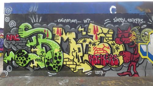 graffiti, Latimer Road
