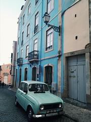 Alfama (you-are-my-favourite) Tags: lisboa lisbon portugal vintage car