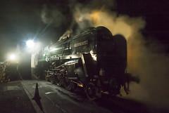 9 F At Night (RJT11) Tags: trains steam old