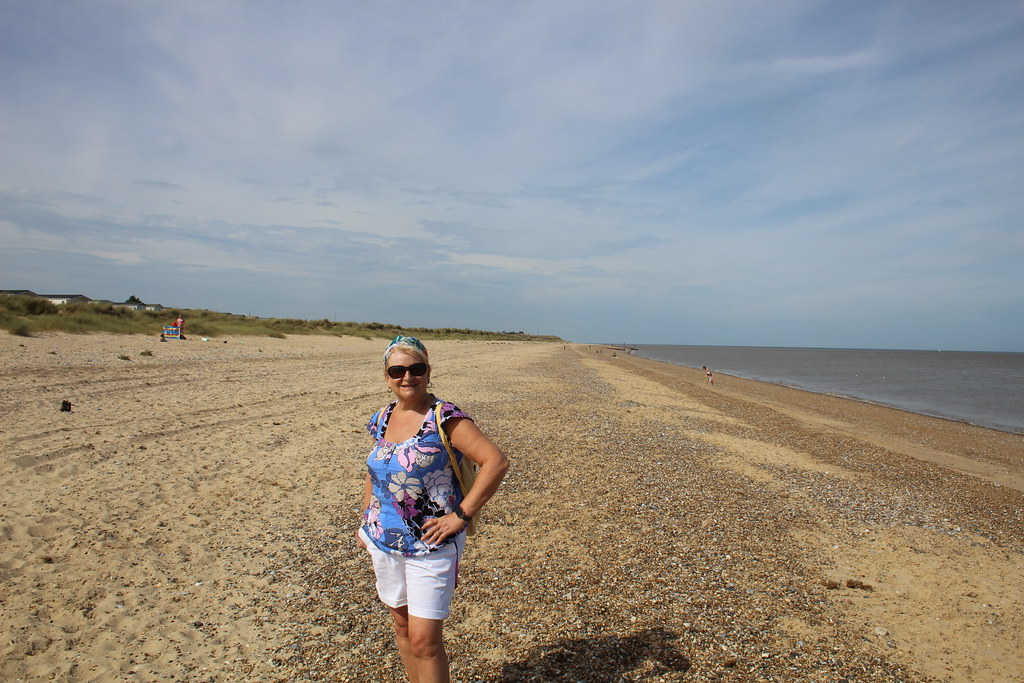 The beach north of Great Yarmouth