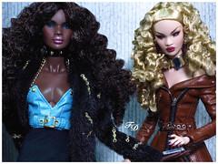 London's Calling... Again (FashionDragon) Tags: africanamerican nadjarhymes londoncalling islay blackbarbie fashionroyalty nuface fashiondoll designerdoll jessyayala davidbuttery byronlars jasonwu stephenburrows bobmackie integritytoys