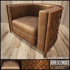 [Kres] Eden Chair ([krescendo]) Tags: kres krescendo secondlife sl cosmo cosmopolitan