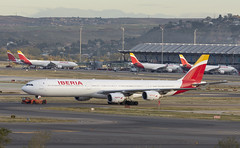 EC-IZY (Lucas31 Transport Photography) Tags: barajas airport aviation planes aircraft madrid airbus a340 iberia