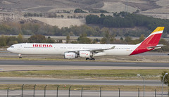 EC-JBA (Lucas31 Transport Photography) Tags: barajas airport aviation planes aircraft madrid airbus a340 iberia