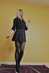 703 (Lily Blinz) Tags: crossdressed crossdresser crossdress crossdressing crossgender tgirl transvestite travesti trans trav transgender transgenre tranny tranvestite stocking lily lilyblinz blinz