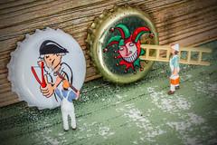 Macro mondays : Lids (www.marnickwijffels.be) Tags: macromondays macro lids crowncorkbeer crown cork beer