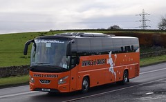 R8BUS  (YJ13HTL)  Irvings, Carlisle (highlandreiver) Tags: r8bus r8 bus yj13htl yj13 htl irvings coaches carlisle vdl futura 2 coach a69 low row