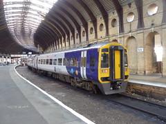 158755 at York (10/11/19) (*ECMLexpress*) Tags: arriva northern class 158 express sprinter dmu 158755 york ecml
