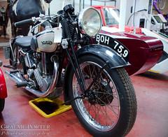 Norton Model 18 - IMG_6420 - Edited (406highlander) Tags: canoneos6d tamronsp2470mmf28divcusd dundeemuseumoftransport dundee scotland museum exhibit vehicle automobile classic vintage boh759 norton nortonmodel18 motorcycle bike sidecar fullframe canon
