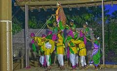 Tribal Dance Udaipur DSC_6319 (JKIESECKER) Tags: traditionalceremony traditionalculture traditionalclothing dancing tribalcommunities india rajasthan portrait people peopleportraits nighttime
