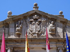Toledo Spain, Ayuntamiento de Toledo (Townhall) - Coat of Arms (Hanschen C'borg) Tags: coatofarms townhall ayuntamiento spain toledo
