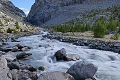 Glacier water (evakatharina12) Tags: gornerbach gletschertor gagenhaupt zermatt switzerland wallis valais glacier river water mountains alps rocks