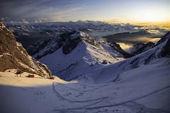 Pilatus - Obwalden/Nidwalden - Schweiz (Felina Photography - www.mountainphotography.eu) Tags: pilatus kulm nidwalden obwalden luzern schweiz switzerland svizzera suisse alps sunset trenino zug neve schnee snow alpi felinafoto mountainphotography