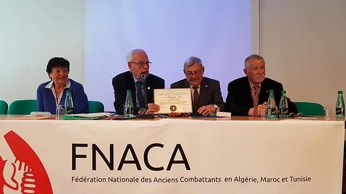 A l'assemblée générale de la FNACA - 10 novembre 2019