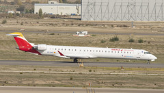EC-MVC (Lucas31 Transport Photography) Tags: madrid aviation planes aircraft airport barajas iberia bombardier crj