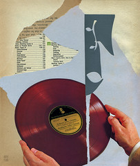 melody unit (argyle plaids) Tags: collage art artwork analog paper glue contemporary weird montage photomontage arte analogue dada colaj illustration bupbup jimmybupbup vintage retro antique recycled surreal surrealist surrealism abstract vinyl record dj redvinyl argyleplaids handmade handcut cutandpaste paperart collageart cutpaper collageartist collageartwork contemporarycollage fineart modernart graphicart graphicartist abstractart vintageart surrealart handmadeart handmadecollage analogcollage abstractcollage abstraction abstracts music musicart melody musicalnote