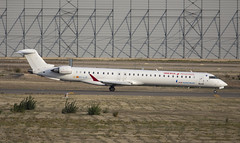 EC-LJT (Lucas31 Transport Photography) Tags: madrid aviation planes aircraft airport barajas iberia bombardier crj