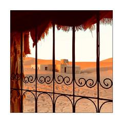 Fenêtre sur dunes (Jean-Louis DUMAS) Tags: maroc dune sable paysage landscape landscapes dreams nature dream trip travel traveler square window
