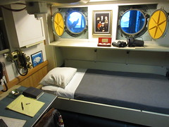 Captain's cabin (viktrav) Tags: uss midway aircraftcarrier ship sandiego captainscabin