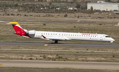 EC-MVZ (Lucas31 Transport Photography) Tags: madrid aviation planes aircraft airport barajas iberia bombardier crj