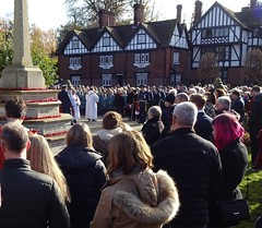 Tring, Remembrance Day 2019 (Snapshooter46) Tags: tring warmemorial churchsquare emembranceday 2019 crowd
