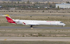 EC-MLN (Lucas31 Transport Photography) Tags: madrid aviation planes aircraft airport barajas iberia bombardier crj