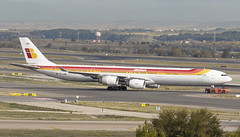 EC-JNQ (Lucas31 Transport Photography) Tags: barajas airport aviation planes aircraft madrid airbus a340 iberia ecjnq