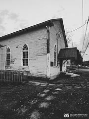 191016-103 Ancienne Église (clamato39) Tags: église church religion religieux olympus lotbinière provincedequébec québec canada bw noiretblanc blackandwhite monochrome