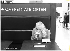 Caffeinate Often - Richmond X5484e (Harris Hui (in search of light)) Tags: harrishui fujix10 digitalmirrorlesscamera fuji fujifilm vancouver richmond bc canada vancouverdslrshooter mirrorless fujixambassador x10 fujixcompactcamera fujixseries fujix caffeinate cofee drinking joe street streetcandid streetphotography bw blackwhite monochrome digitalbw hongkongprotest hongkongprodemoracymovement hongkongpolytechnicuniversity
