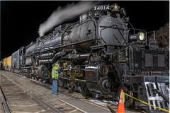 Big Boy overnight in Coffeyville Kansas (_patclancy56) Tags: unionpacific up 4014 upbigboy up4014