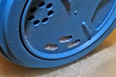 Lid. (Les Fisher) Tags: macromondays lids tub salt blue
