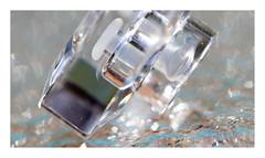 Crystal Lid (Greenstone Girl) Tags: lids macromondays bokeh light crystal glass