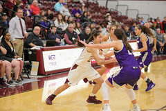 WBB-955 (Cumberland University Athletics) Tags: 201920 cumberland asbury basketball women