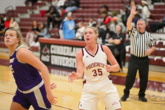 WBB-875 (Cumberland University Athletics) Tags: 201920 cumberland asbury basketball women