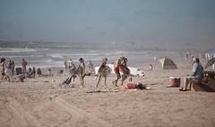 November weekend -  85F (Zara Calista) Tags: beach sandiego november fall ocean water people fun sun texture california ca