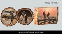 Photo Print on Wood (woodenhouseart) Tags: photo print wood christmas ornaments