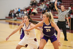 WBB-926 (Cumberland University Athletics) Tags: 201920 cumberland asbury basketball women