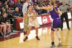 WBB-844 (Cumberland University Athletics) Tags: 201920 cumberland asbury basketball women
