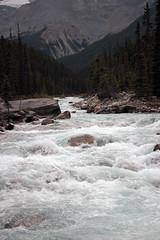 Fast-Moving Waters (JB by the Sea) Tags: banff banffnationalpark alberta canada september2019 rockymountains rockies canadianrockies icefieldsparkway highway93 mistayacanyon mistayariver