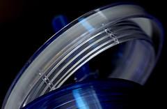 Screw On Plastic Lid (j.towbin ©) Tags: allrightsreserved© plastic macro plasticcup arcs curves img3589 macromondays lids blue ef100mmf28lisusmmacro