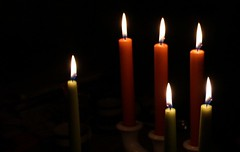 How to survive the darkness in November - by lighting candles ♥