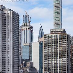 Midtown Detail (20191117-DSC09762) (Michael.Lee.Pics.NYC) Tags: newyork rooseveltisland tram tramway 53w53 construction skyscraper midtown 432parkavenue architecture cityscape sony a7rm2 fe24105mmf4g 425parkavenue