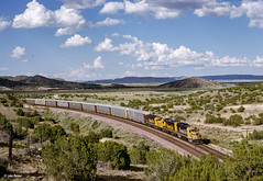 ATSF 3820 West at Laguna, NM (thechief500) Tags: atsf bnsf gallupsubdivision railroads laguna nm usa santaferailway newmexico