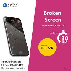broken screen (Appworldindia) Tags: likeforlikes apple iphone5s repair services iphone macbook imac ipad follow india samsung online service quality ios smartphone like good appworld